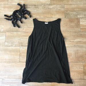 J Jill 🕷 Solid Black 100% Cotton Tunic Top